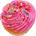Strawberry Fake Cupcake USA top