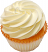 Fake Yellow Plain Cupcake