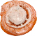 Cinnamon Roll Soft Touch fake bread top