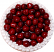 Cherry Fake Fruit Tart 8 inch top