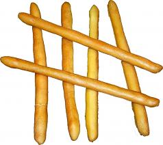 Bread Sticks 6 piece soft touch fake bread USA