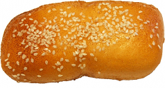 Sesame Loaf Roll fake Bread Soft Touch USA