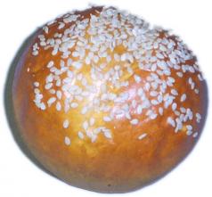 Sesame Roll fake bread USA