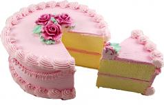 Cherry Cake With Slice 9 Inch USA