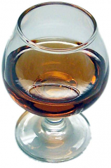 Brandy Glass fake drink USA