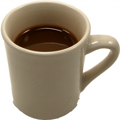 Coffee Cup fake drink USA