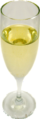 Champagne Glass fake drink USA