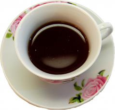 Tea Cup and Saucer Fake Drink U.S.A.