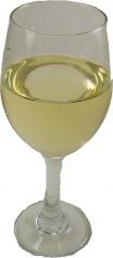 White Wine Large Glass fake drink USA