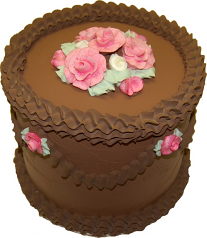 Chocolate Tall Cake 9 inch USA