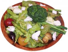 Salad Bowl fake food USA