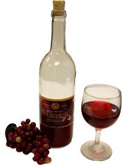 Red Wine Set Glass fake drink USA