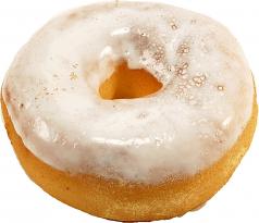 Glazed Fake Doughnut Soft Touch Fake Donut USA