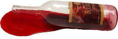 Red Wine Bottle Spill fake drink USA