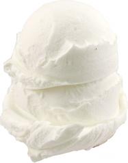 Vanilla 2 Scoop fake ice cream NO CONE USA