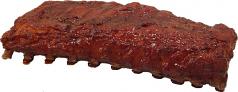 BBQ Rack of Ribs fake food USA