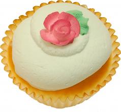 Green Pink Rose Fake Cupcake USA