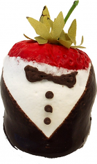 Tuxedo chocolate dipped strawberry USA