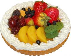 Mixed Fruit fake Tart 8 inch USA