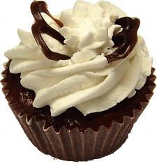 Chocolate Butterfly Fake Cupcake USA