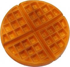 Waffle Plain fake food USA