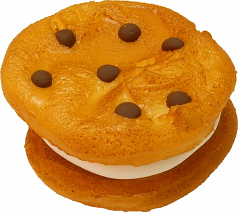 Chocolate Chip Marshmallow Fake Cookie U.S.A.