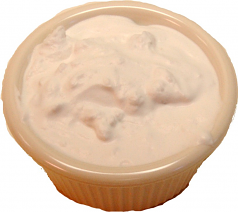 Fake Blue Cheese or Ranch Dressing Cup U.S.A.
