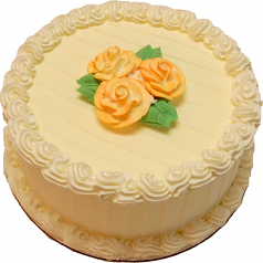 Lemon Designer fake cake 9 inch USA