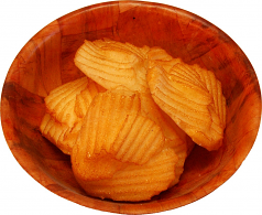 Potato Chips Bowl Fake Food USA