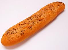 French Bread Poppy Seed Medium 16 inch fake food USA