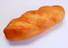 French Loaf soft touch Plain Small 11 inch fake food USA