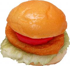 Chicken - Fish Fake Food Sandwich