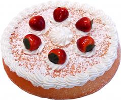 Vanilla Strawberry Fake Sponge Cake U.S.A.