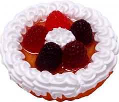 Berry Fake Fruit Tart 3 inch USA