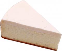New York Fake Cheesecake Slice USA