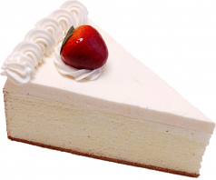 Strawberry Fake Cheesecake Slice USA
