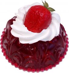 Strawberry Jell-O Fake Food USA