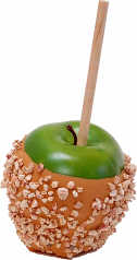 Caramel Fake Candy Apple with Nuts USA