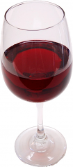 Red Wine Glass fake drink USA