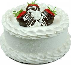 Strawberry Coconut Fake Cake 9 inch USA