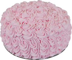 Pink Rose Fake 9 inch Cake USA