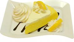 Lemon Cake Fake Dessert Plate USA