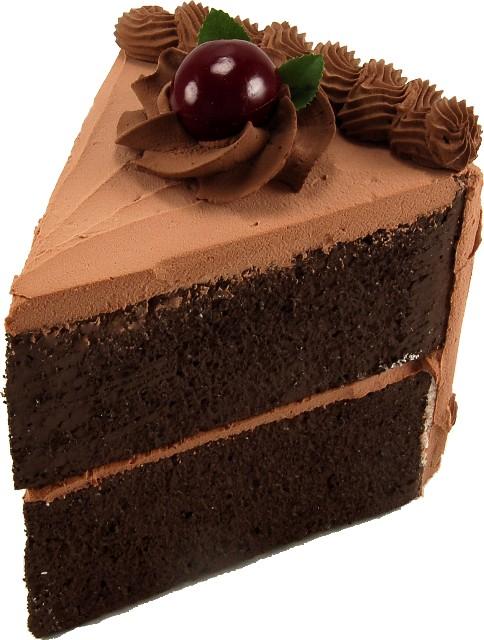 Slice Of Cholcate Cake Calories