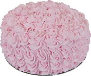 Pink Rose Fake 9 inch Cake USA