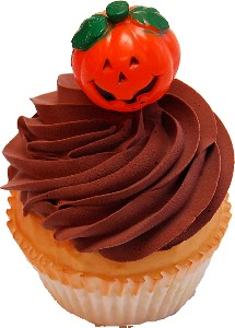 Chocolate Halloween Fake Cupcake USA