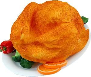 Turkey Baked Fake Food on Oval Tray USA