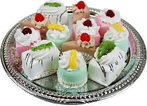 Mini Fruit Fakey Cakes 12 pack Assortment Petit Four