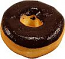 Chocolate Doughnut Soft Touch Fake Donut USA
