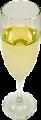 Champagne Glass fake drink USA