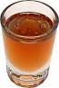 Whiskey Shot Round Glass fake drinks USA